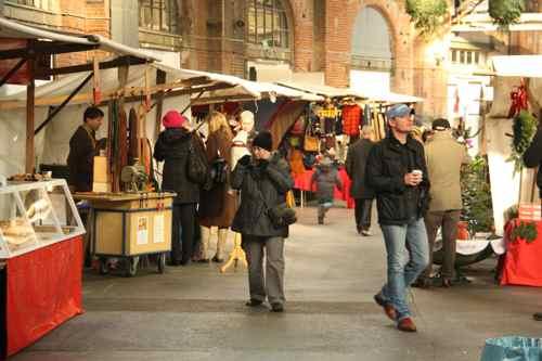 Berlin market am Gleisdreieck