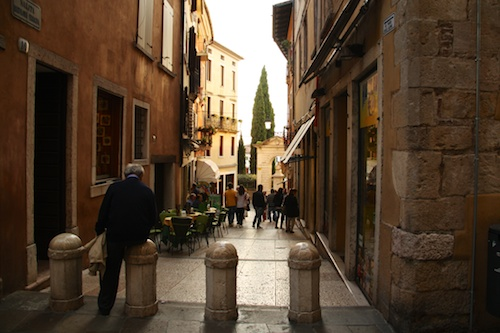 wandering the streets of Bassano del Grappa