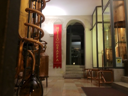 Poli Grappa museum in Bassano
