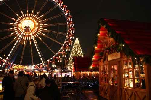 Bavarian ferris wheel, Berliner Christmas market