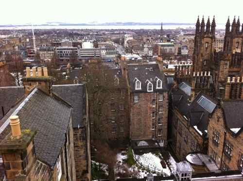 Edinburgh: view from the World of Illusions