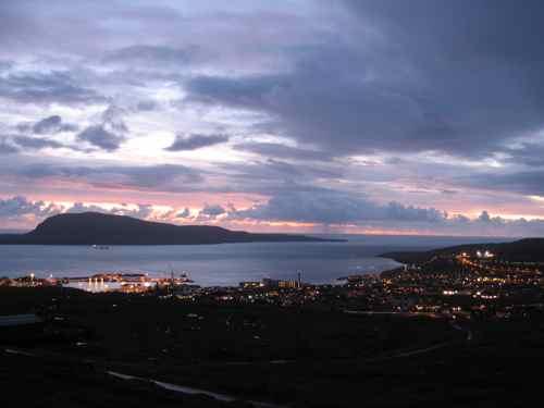 Torshavn sunrise
