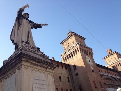 Ferrara statue