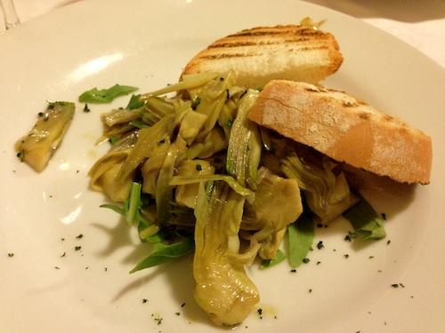 Ferrara artichoke salad