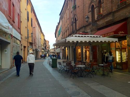 Ferrara cute streets