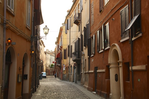 another cute street in Ferrara