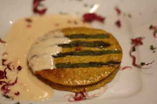 Ferrara asparagus flan
