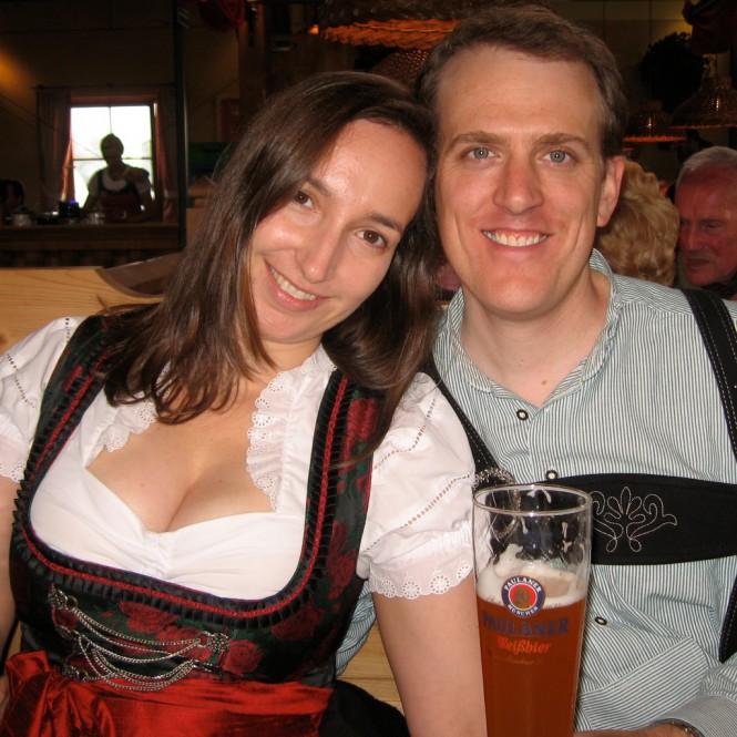 Julie and Scott