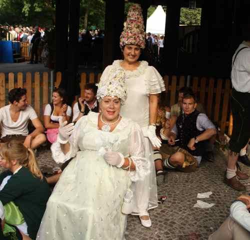 fancy dress at the Kocherlball