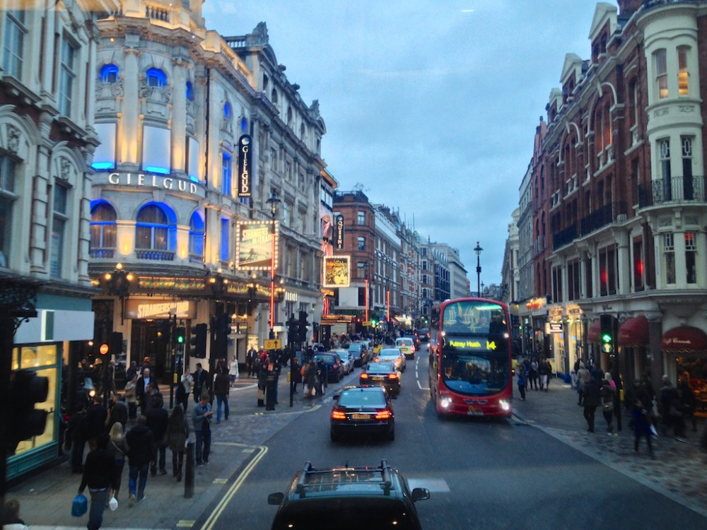 London's theatre district