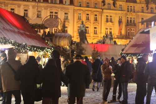 Christmas market in Old Town Square, Prague