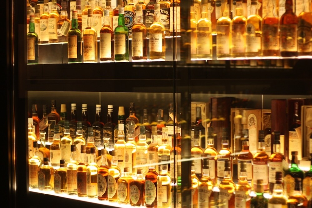 Edinburgh Experiencing The Scotch Whisky Experience