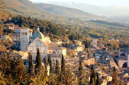 View of Assisi, Umbria
