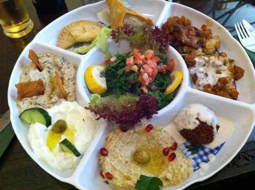 Mmm vegetarian plate