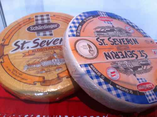 Austrian cheese wheels