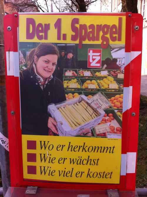 Germany gets all excited in anticipation of Spargel season