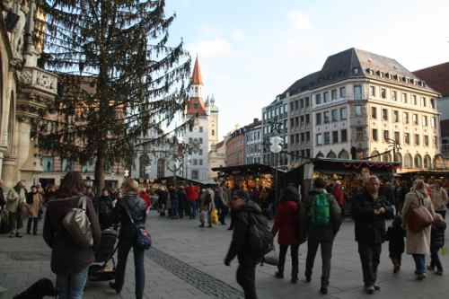 Christmas in Marienplatz